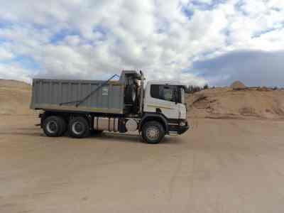 Доставка песка - Петрозаводск