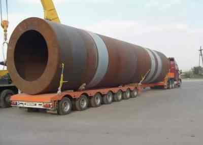 Перевозка труб больших диаметров тралами и площадками - Петрозаводск, цены, предложения специалистов